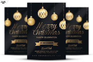 3in1 CHRISTMAS Flyer Template