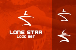 Lone Star (LS) Logo Set