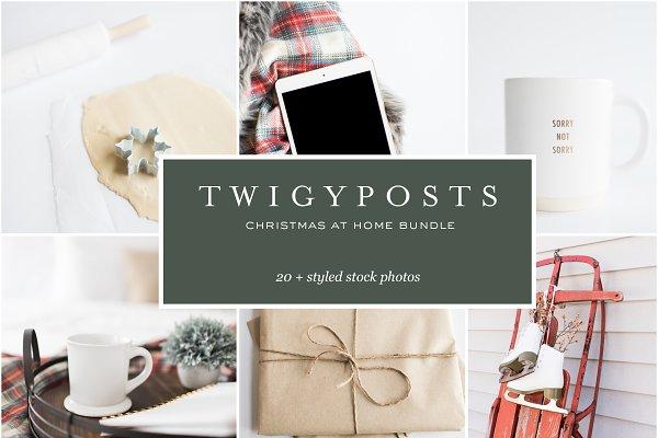 Christmas at Home Stock Photo Bundl…