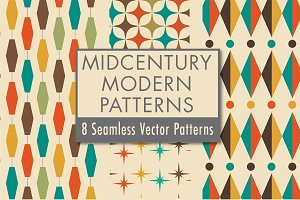 Mid-Century Modern Patterns Vol 2