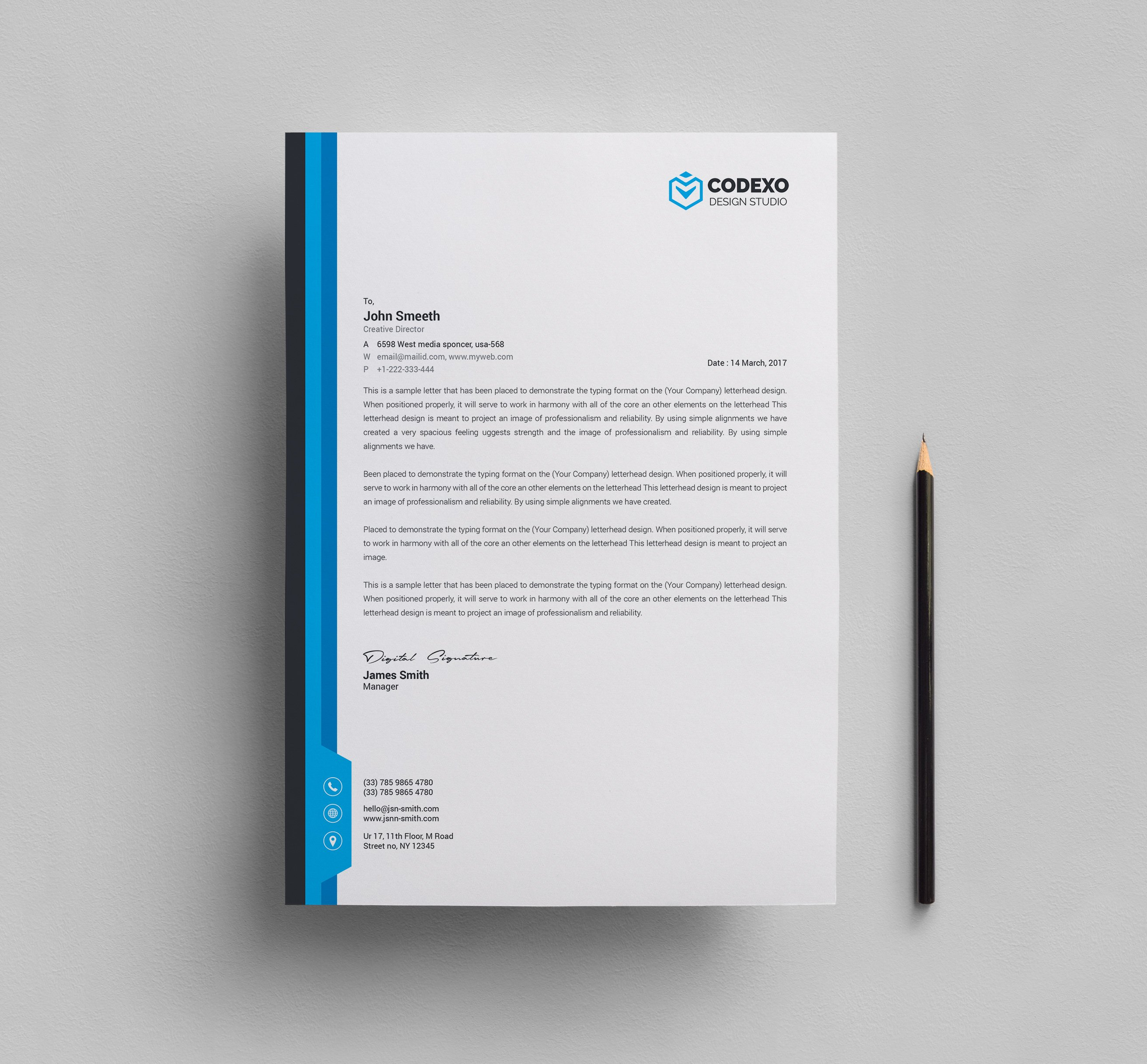 Letterhead Template Stationery Templates Creative