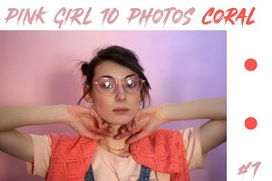 PINK GIRL 10 PHOTOS CORAL