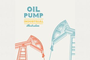 Oil pump jack design.