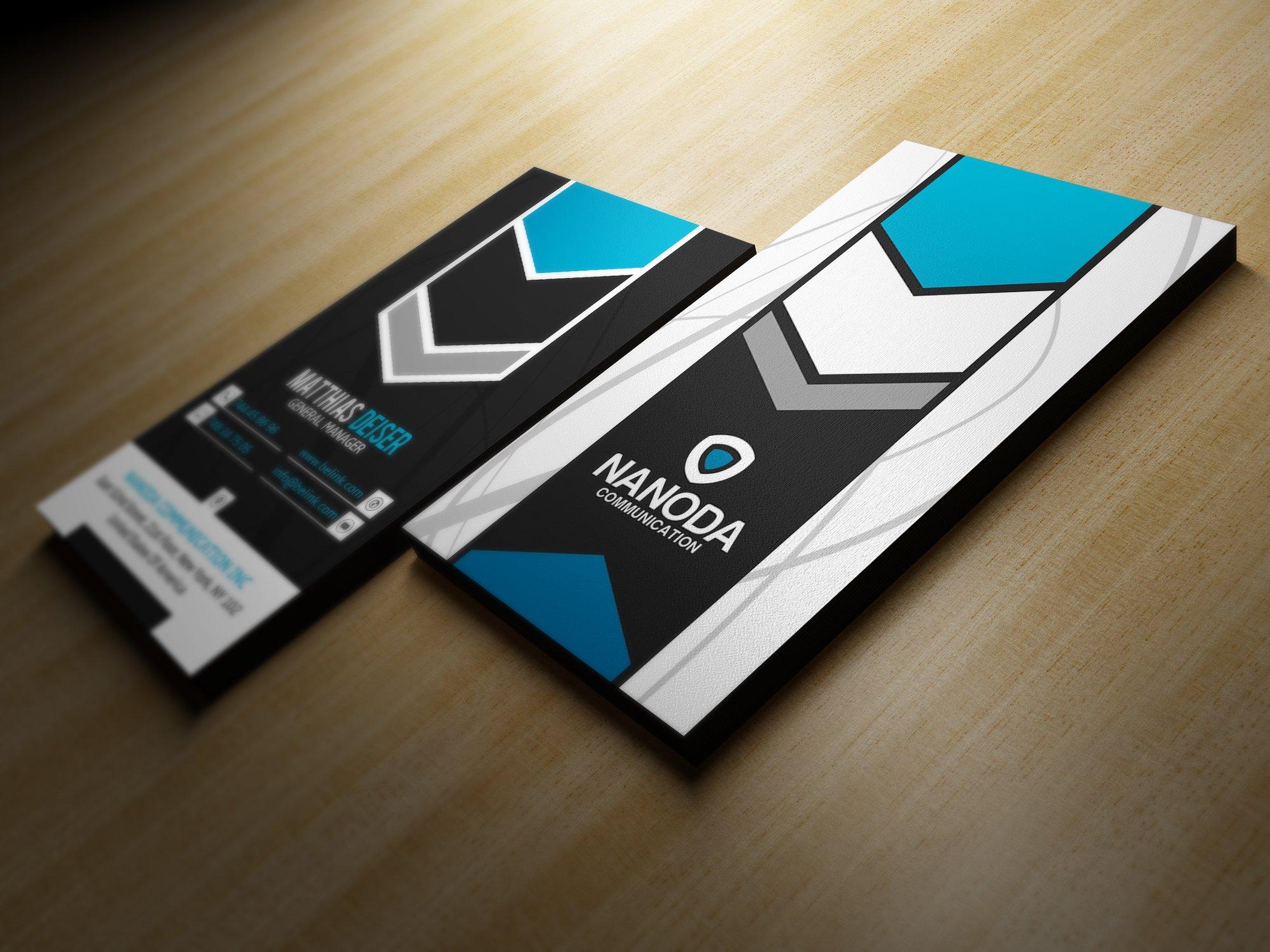 Modern Business Card ~ Business Card Templates ~ Creative Market