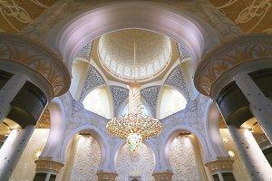 Interior of Sheikh Zayed