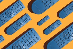 TV remote pattern of many devices