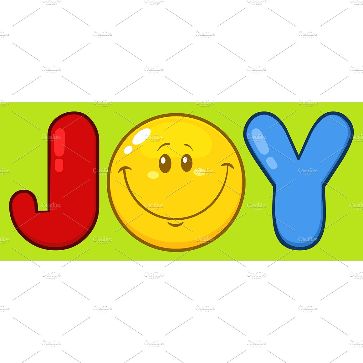 Joy with smiley face illustrations creative market biocorpaavc Images