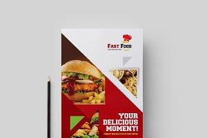 Fast food Both Side Flyer