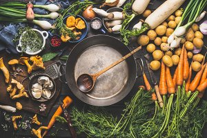 Autumn and winter cooking ingredient