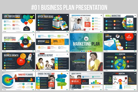 businessplan powerpoint presentation presentation templates