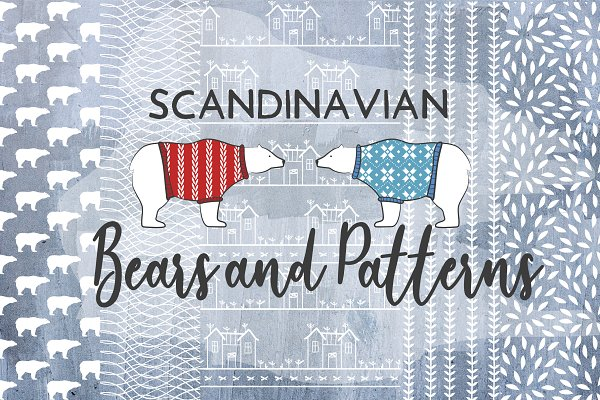 Polar bears and patterns