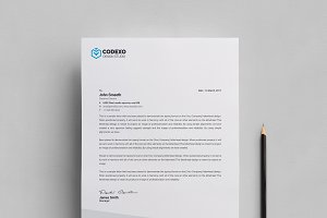 Design Letterhead Template