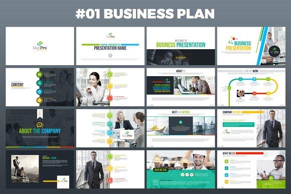 Business Presentation | Businessplan Powerpoint Presentation Presentation Templates