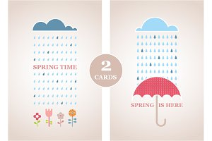 2 Spring Time Illustrations
