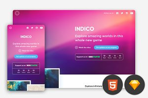 Indico - Multipurpose one pager