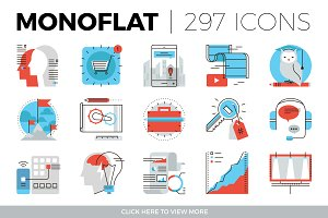 Monoflat Icons Collection