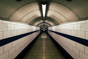 Moody Tunnel on London Underground