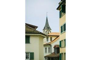 Roofs Of Zurich