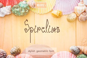 Spiralius Font. Volume 1