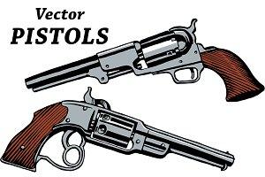 10 Vector Pistols