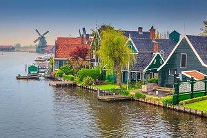 Fabulous Zaanse Schans village