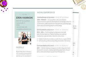 Minimalist MS Word Resume Template