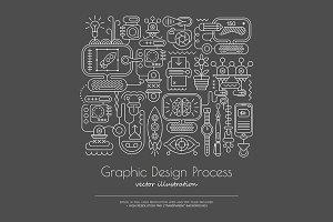 5 Graphic Design vector artworks