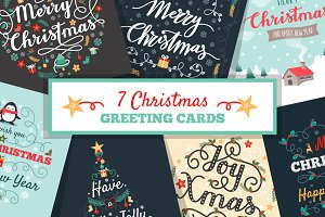 7 Christmas greeting card