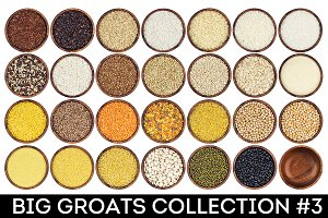 Different groats collection #3