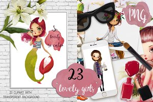 23 lovely girls