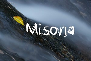 Misona Handwritten Font