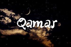 Qamar Handwritten Font