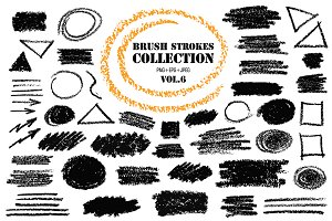 Brush Strokes Collection Vol.6