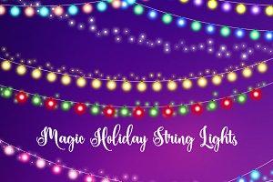 Magic Holiday String Lights