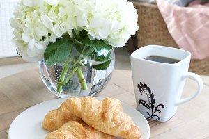 Croissants + Coffee