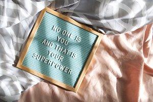 Superpower Felt Board