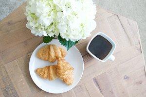 Coffee + Croissants