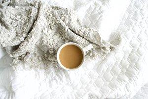 Blankets + Coffee