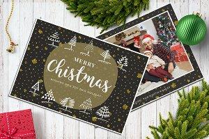 Christmas Postcard 5x7 V14