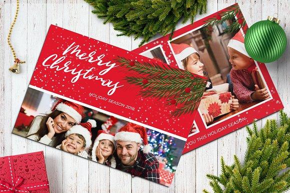 christmas postcard 5x7 v15 cards