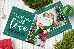 Christmas Postcard 5x7 V17