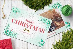 Christmas Postcard 5x7 V21