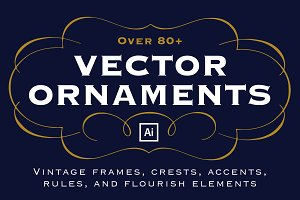 80+ Vector Ornaments