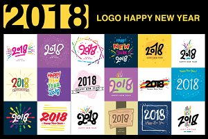 2018 Logo Happy New Year