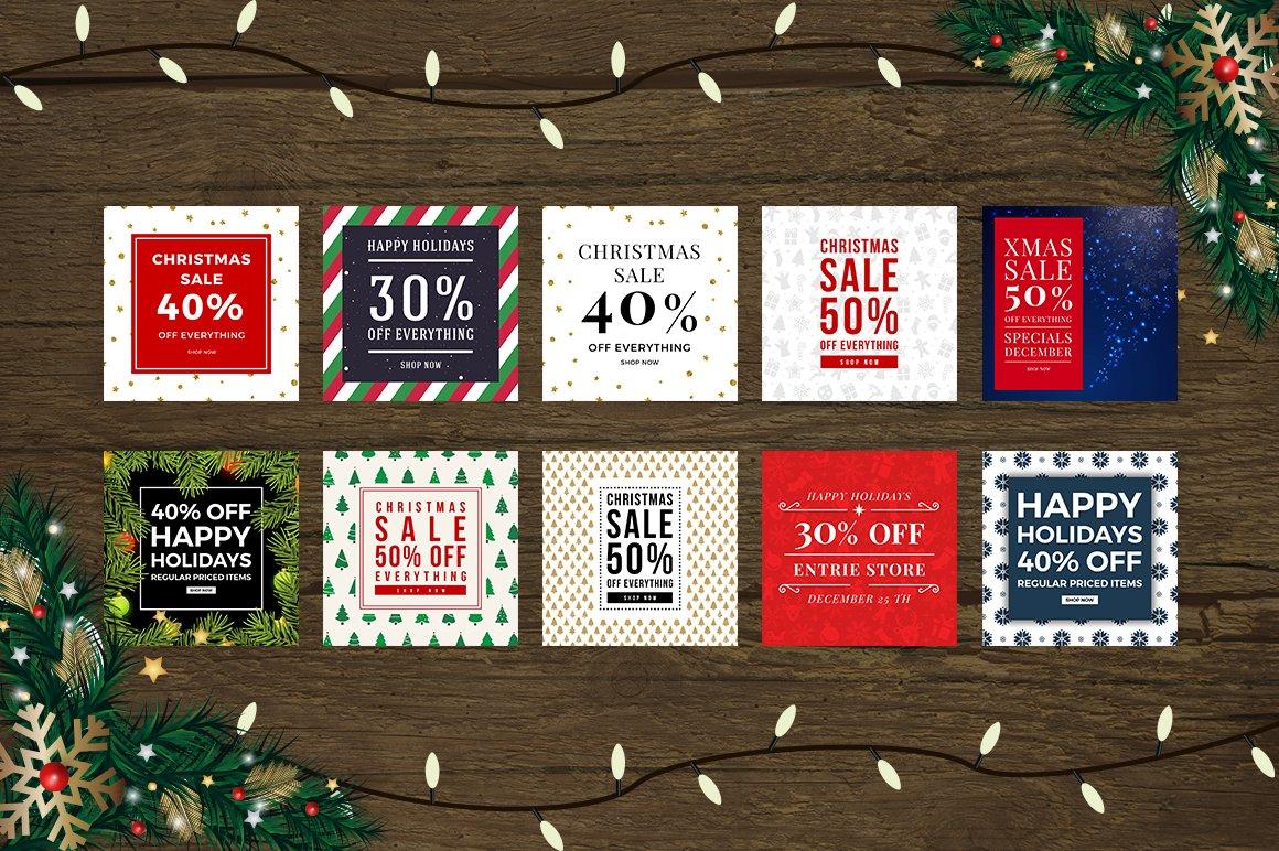 Christmas Social Media Bundle