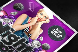 A3 Poster Mockup - Closeup