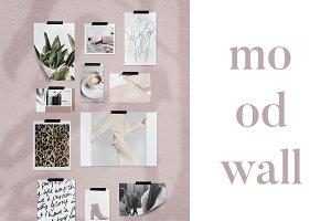 Mood Wall Mockup