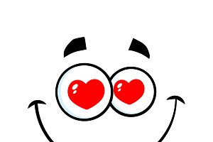 Smiling Love Cartoon Funny Face