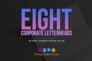 Letterhead Design Template Bundle