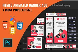 Corporate - HTML5 Animated Banners